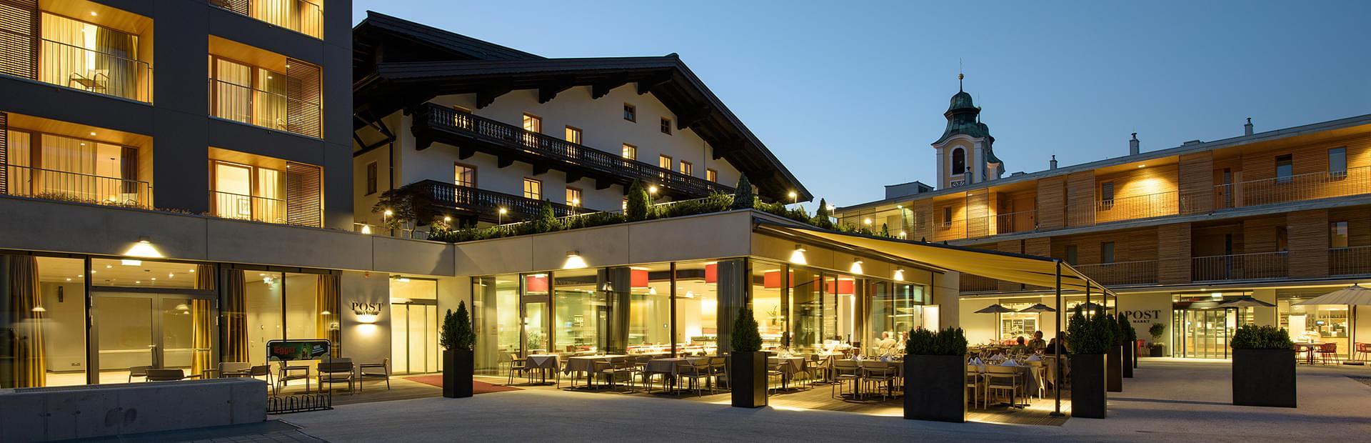 Hotel Neue Post Holzgau Speisekarte